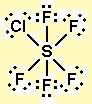SF5Cl Lewis Structure